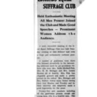 Page 160 : Edmonds Equal Suffrage Club