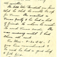Letter from Fanny Price Webb to Bernice Sapp, 1/23/1929, page 3