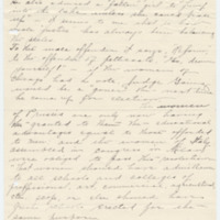 Letter from LaReine Baker to May Grinnell, 10/25/1908, page 4