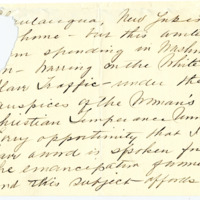 Letter from Cornelia Teal to Emma Smith DeVoe, 12/1/1910, page 3