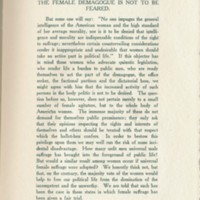 Page 236 : Female Suffrage : from the viewpoint of a male democracy (Page 11)