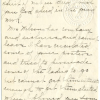 Letter from Etta Dailey to Emma Smith DeVoe, 1/22/1912, page 2