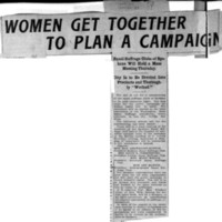 Page 160 : Women Get Together to Plan a Campaign